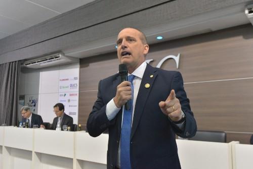 Ministro-chefe da Casa Civil apresentou ações do governo Bolsonaro em reunião-almoço extraordinária nesta sexta-feira (27) - Foto: Gilmar Gomes